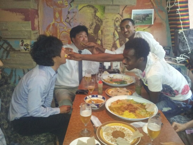 ethiopia styleです